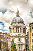 St Paul Cathedral, London - stock photo