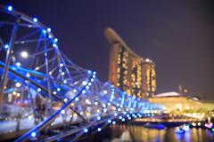 City lights bokeh  blurred background Kuvituskuvat