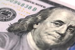 Benjamin Franklin - stock photo