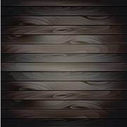 Vector wood plank background - stock illustration