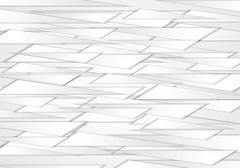 Stock Illustration of Abstract grey shapes vector background