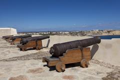 Fortaleza de Sagres, Cabo de Sao Vicente, Algarve, Portugal - stock photo