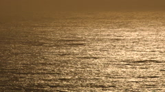 Sunset Ocean Glimmer - stock footage
