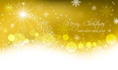 Abstract vector Christmas card Stock Illustration