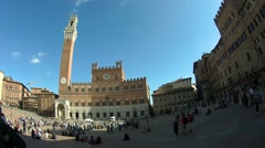 TimeLapse Siena Piazza del Campo - stock footage