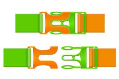 Plastic buckle clasp illustration Stock Illustration