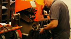 Stock Video Footage of Shoe repairman