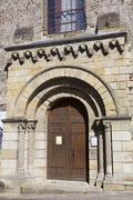 Church in the Castle of Azay-le-Rideau, Indre-et-Loire, France Stock Photos