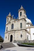 Sanctuary of Sameiro, Braga, Nord, Portugal - stock photo