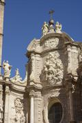 Cathedral at Valencia, Spain Stock Photos
