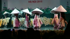 The 4th international marionette festival ha noi 2015 Stock Footage