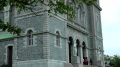 Canada Newfoundland St. John's 029 Basilica Cathedral of St. John The Baptist Stock Footage