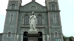 Stock Video Footage of Canada Newfoundland St. John's 024 Basilica Cathedral of St. John The Baptist