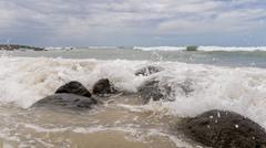 Atlantic Ocean Waves - stock photo