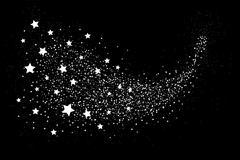 Stock Illustration of Glittering star dust circle