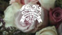 Stock After Effects of Wedding-Titles-with-Decorations
