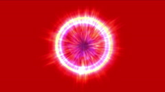 4k Abstract energy ray ball,flicker particle,radiation explosion science light. Stock Footage