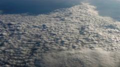 Earth's atmosphere, Cloudy Skies, 4K - stock footage