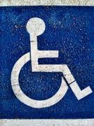 Handicapped Symbol - stock photo