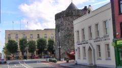 Waterford Street, Ireland - stock footage