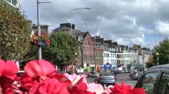 Colorful town of Cobh, Ireland Stock Footage