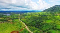 Beautiful mountain views Stock Footage