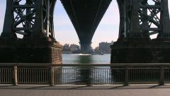 Under the bridge Stock Footage