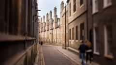 Cambridge Trinity Lane   Stock Footage