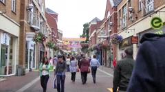 Streets of Limerick, Ireland Stock Footage