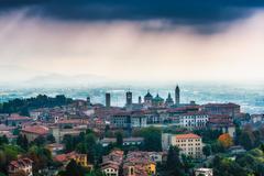 Bergamo top - stock photo