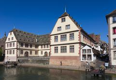 Stock Photo of View of Strasbourg, Bas-Rhin, Alsace, France