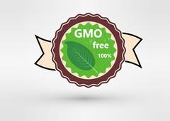 Made with Non - GMO ingredients grunge rubber stamp, vector illustration - stock illustration