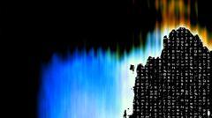 Futuristic Technology Screen - stock illustration
