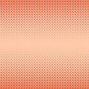 Halftone Patterns.  Dots on White Background - stock illustration