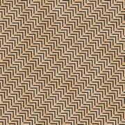 Beige and Black Geometric Design Tile Pattern Repeat Background Stock Illustration