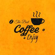 Stock Illustration of Menu for restaurant, the best coffee enjoy, use for cafe, bar of coffeehouse