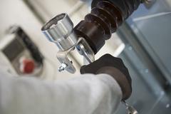 faucet repair - stock photo