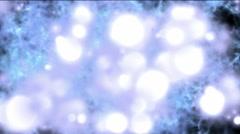 blue background with globular effect - stock footage