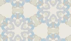 Stock Illustration of Gray Pattern of Snowflake Shapes