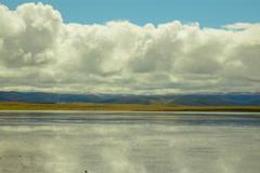 Gahai lake, Gannan Tibetan, Northwest China Stock Footage