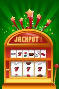 Casino gambling design Stock Illustration