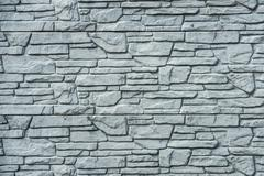 pattern gray color of modern style design decorative stone wall surface with  - stock photo