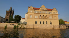 Bedrich Smetana Museum in Prague Stock Footage