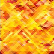 Abstract seamless pattern. Mosaic Vector Stock Illustration