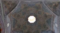 Edirne, Turkey. Old Mosque - Eski Mosque -interior Stock Footage