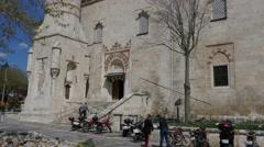 Edirne, Turkey. Old Mosque - Eski Mosque Stock Footage