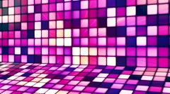 Broadcast Twinkling Hi-Tech Cubes Stage 12 - stock footage