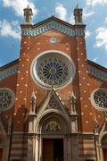 St. Anthony of Padua Church - stock photo