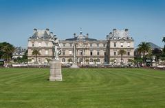 Luxembourg Gardens in Paris - stock photo
