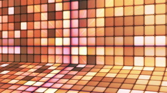Broadcast Twinkling Hi-Tech Cubes Stage 14 - stock footage
